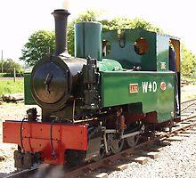 0-6-0 ex:War Department Narrow Gauge Engine by Andrew  Bailey