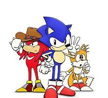 Sonic OVA by patrick womble