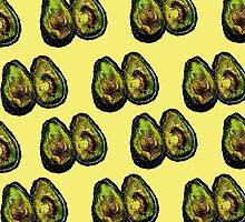 Avocado - Yellow by ruthkatherinee