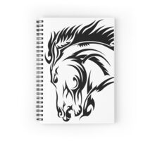 Tribal Stallion Spiral Notebook