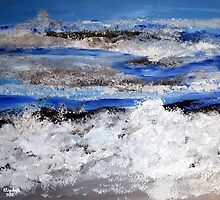 To paint the sea... by Elizabeth Kendall