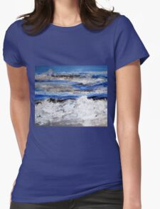 To paint the sea... Womens Fitted T-Shirt