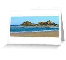Panorama Broken Head N.S.W. Coast Greeting Card