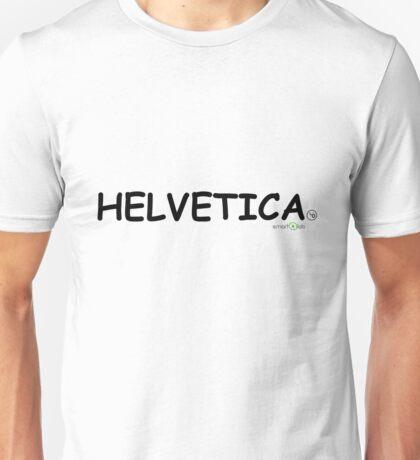 Helvetica Unisex T-Shirt