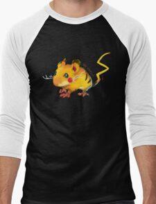 Electric Mouse Men's Baseball ¾ T-Shirt
