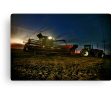 Night Harvest Canvas Print
