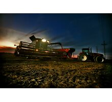 Night Harvest Photographic Print
