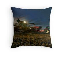 Night Harvest Throw Pillow