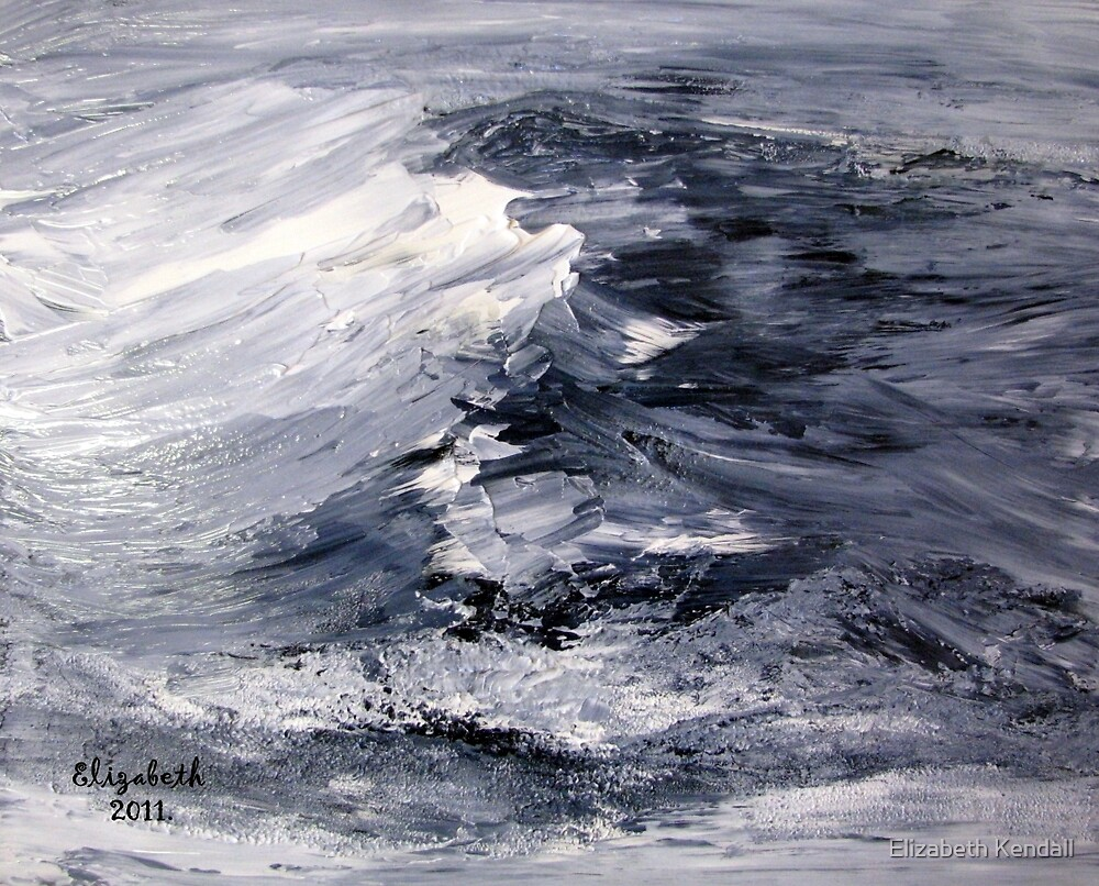 Yonder is the sea, great and wide. by Elizabeth Kendall