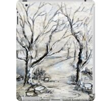 Trees in winter  iPad Case/Skin