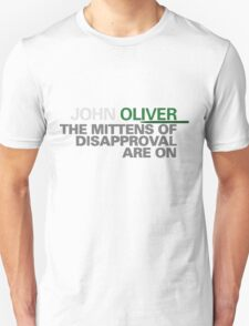 The Mittens of Disapproval Unisex T-Shirt