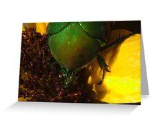 272 Green Shield Stink Bug Greeting Card