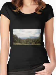 The valley Women's Fitted Scoop T-Shirt
