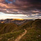 Mt Feathertop sunset by bonsta
