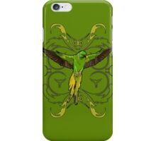 The Green Parrot iPhone Case/Skin