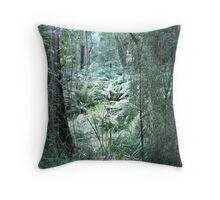 The Dandenongs in Winter, Melbourne Throw Pillow
