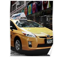 A Yellow Cab Poster