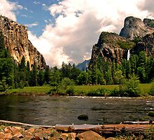 Yosemite's River  by Clyde  Smith