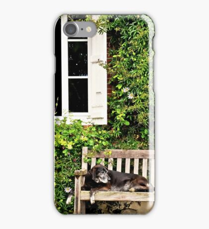 Madge reclines iPhone Case/Skin