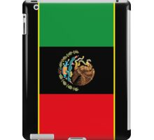 Afro Mexican Flag iPad Case/Skin