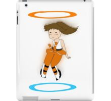 Chell - Portal 2 iPad Case/Skin