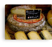 Fromage Canvas Print