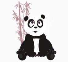 Panda Girl Kids Clothes