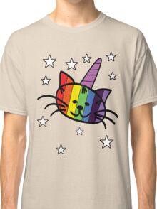 Rainbow Unicorn Cat Unikitty T Shirt Classic T-Shirt