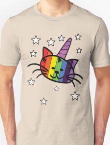 Rainbow Unicorn Cat Unikitty T Shirt Unisex T-Shirt