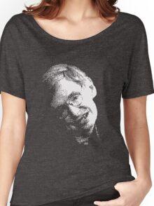 Stephen Hawking Pixel Art Women's Relaxed Fit T-Shirt