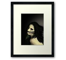 Capturing the Dead Framed Print