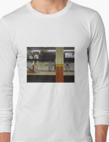 Brooklyn Bridge Subway NYC Long Sleeve T-Shirt
