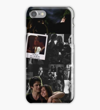 season 6 delena iPhone Case/Skin