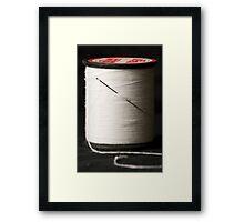 A Needle and Thread Framed Print