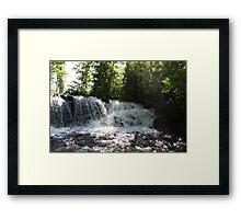 Raleigh Falls Framed Print