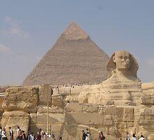 Giza Plateau, Cairo,Egypt by Patricia127
