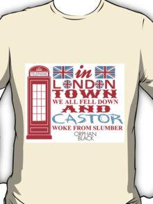 Orphan Black - In London Town T-Shirt