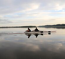 6am work out at Vancouver Lake by Carl LaCasse