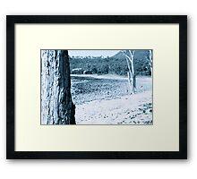 """""""Rest in Nowhere"""" Framed Print"""