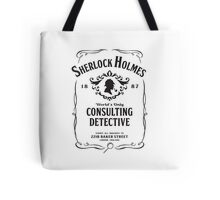 World's Only Consulting Detective (BW) Tote Bag