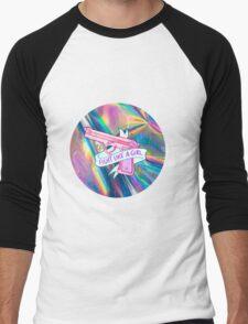 "Holographic ""fight like a girl"" Men's Baseball ¾ T-Shirt"