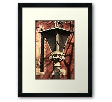 To Light the Way Framed Print
