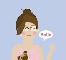 Hello! by 83oranges