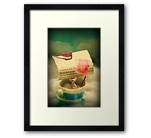 The Little Dreamer Framed Print