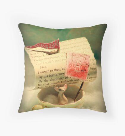 The Little Dreamer Throw Pillow
