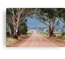 The Road to Glen Davis NSW Australia Canvas Print