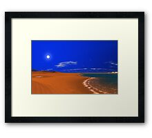 Dunes World - Hot n' Cold Framed Print