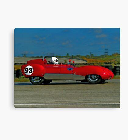 Vintage Auto Racer Canvas Print