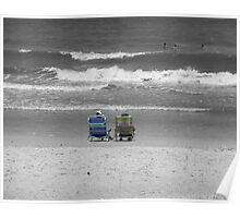 Striped Chairs Poster