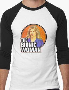 Bionic Woman Men's Baseball ¾ T-Shirt